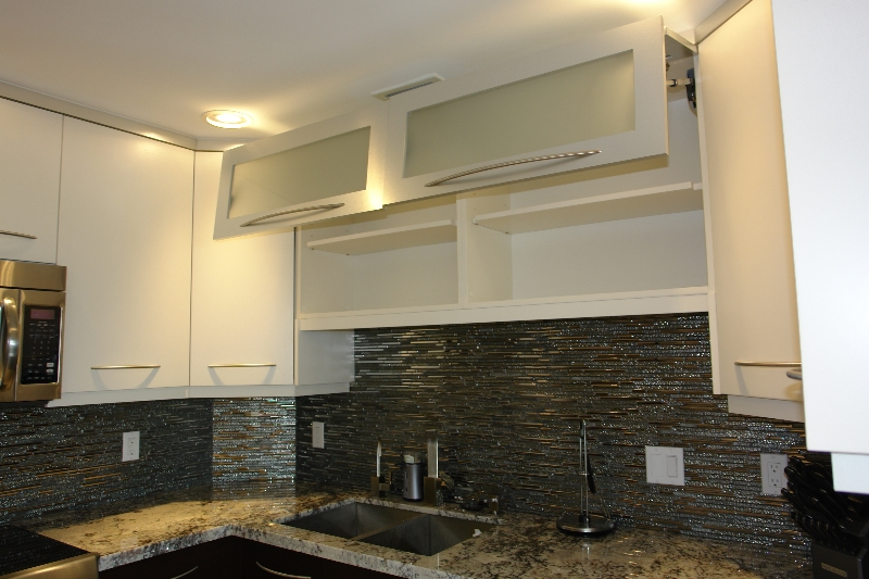 ... Kitchen Cabinets in South Florida modern cabinet doors lifting up ...