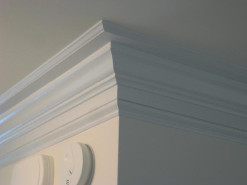 Commercial and residential crown molding installation in - Contemporary trim moulding ...