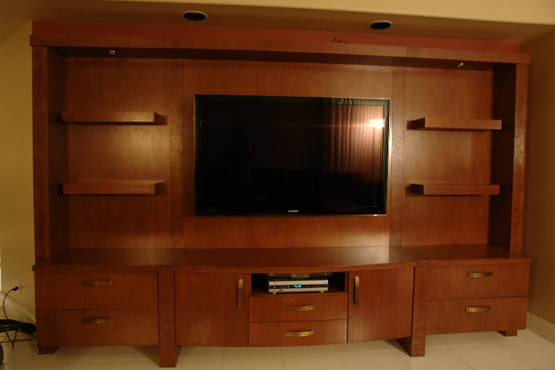Custom Wall Unit Designs Gallery Made in South Florida