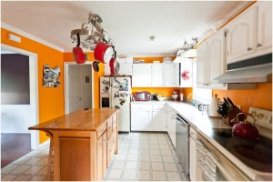 Orange Kitchen Wall Color