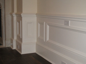 Raised Panel Wainscot paneling is one of the most traditional styles ...