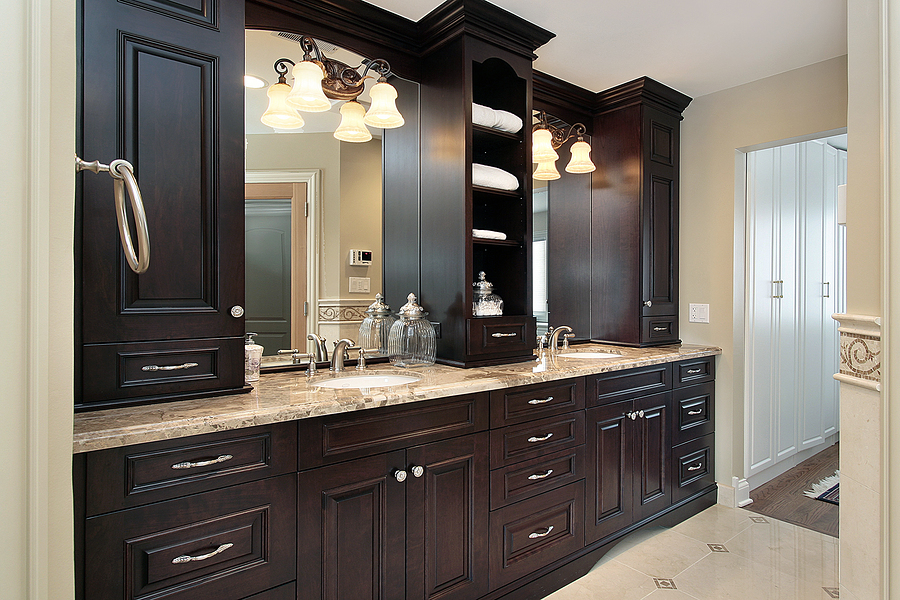 bathroom cabinet remodel benefits of picking custom bathroom cabinets and vanities 10309