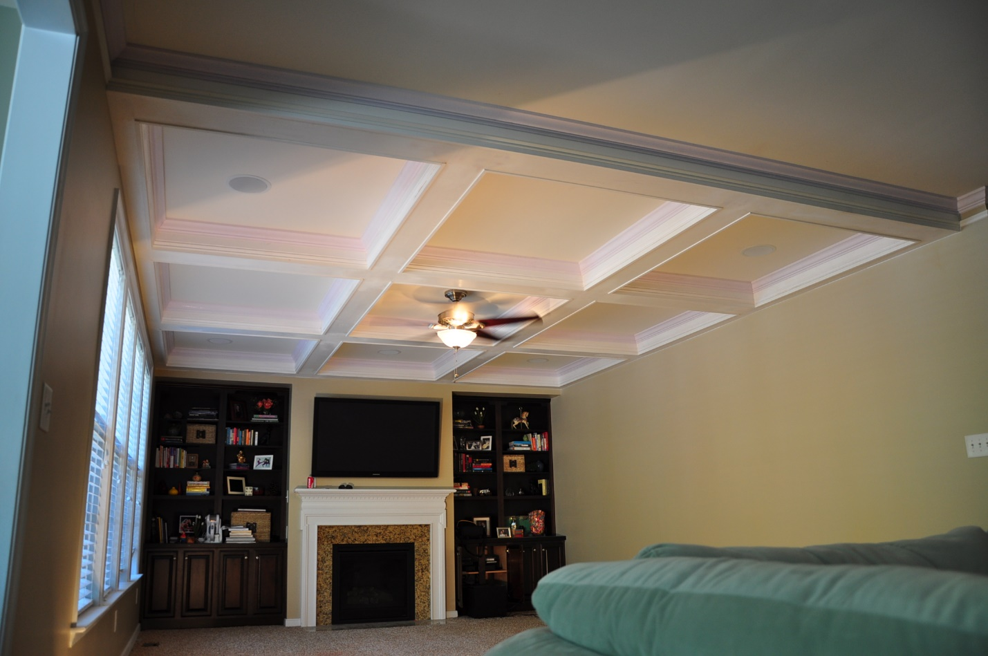 coffer ceilings millwork